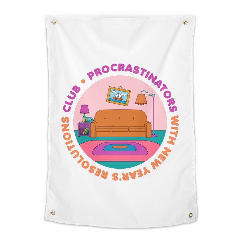Procrastinators Club Home Tapestry by Jana Artist Shop