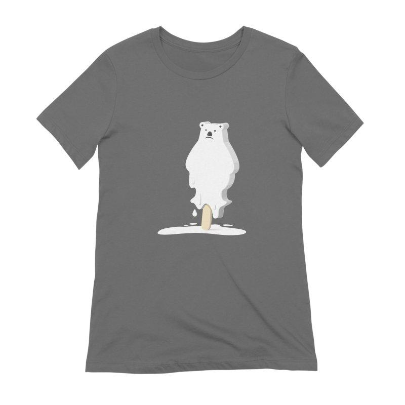Melting Away Women's T-Shirt by Jana Artist Shop