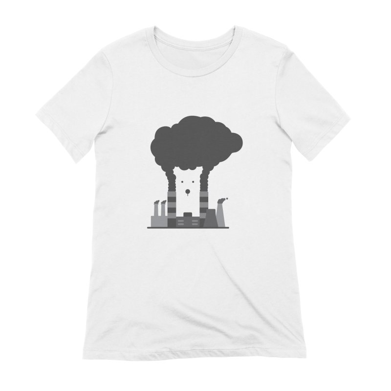 Save the polar bears, save the world Women's T-Shirt by Jana Artist Shop