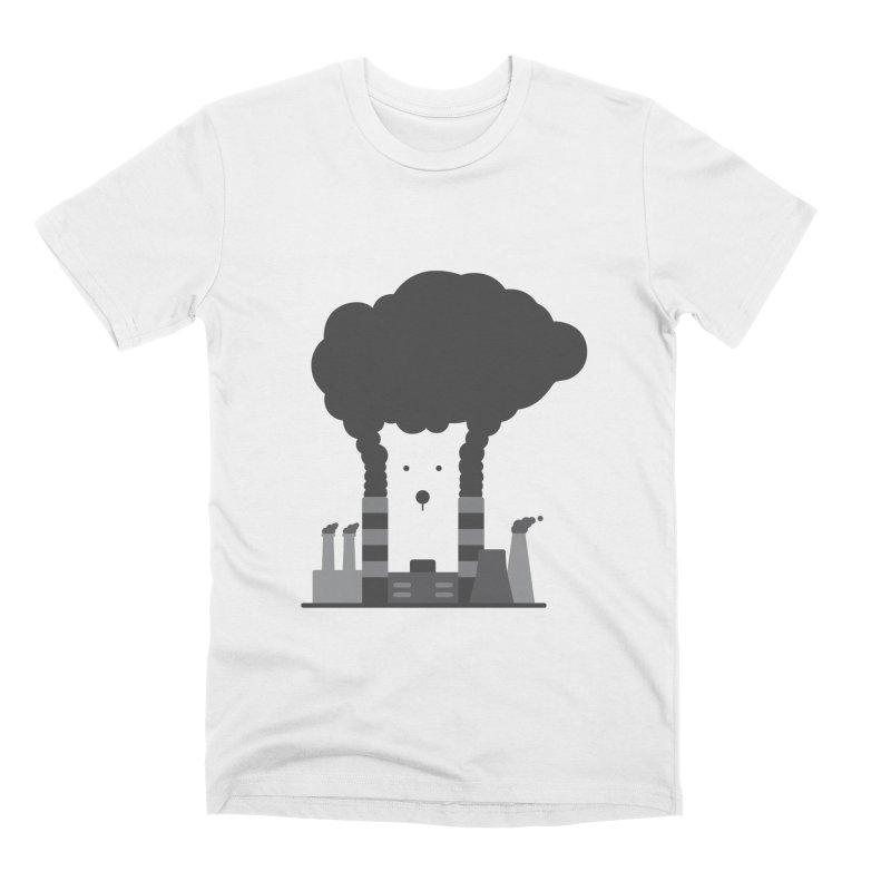 Save the polar bears, save the world Men's T-Shirt by Jana Artist Shop
