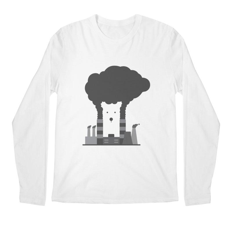 Save the polar bears, save the world Men's Longsleeve T-Shirt by Jana Artist Shop