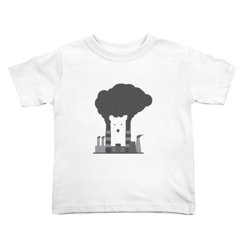Save the polar bears, save the world Kids Toddler T-Shirt by Jana Artist Shop
