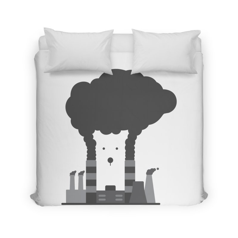 Save the polar bears, save the world Home Duvet by Jana Artist Shop