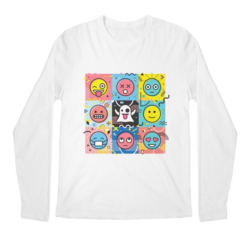 Mixed Feelings Men's Longsleeve T-Shirt by Jana Artist Shop
