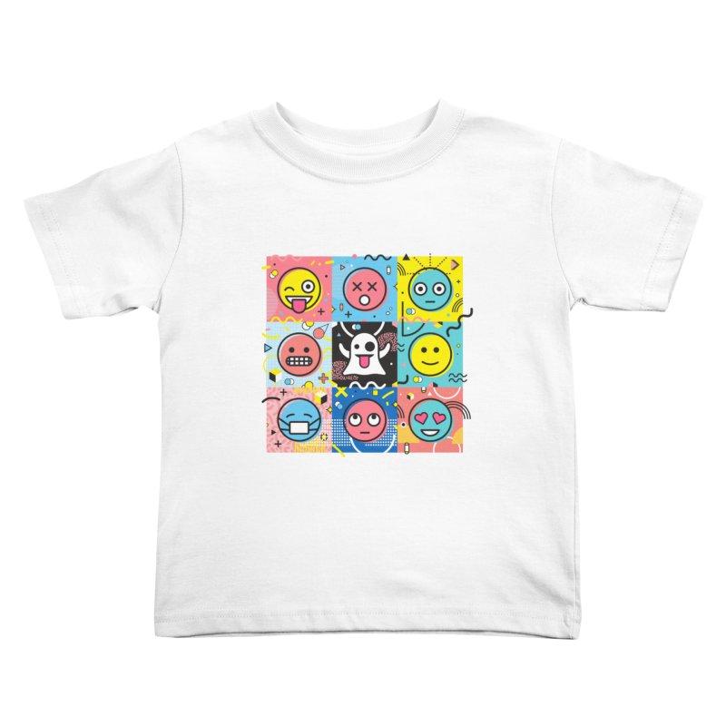 Mixed Feelings Kids Toddler T-Shirt by Jana Artist Shop