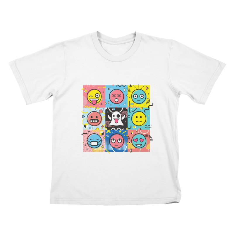 Mixed Feelings Kids T-Shirt by Jana Artist Shop