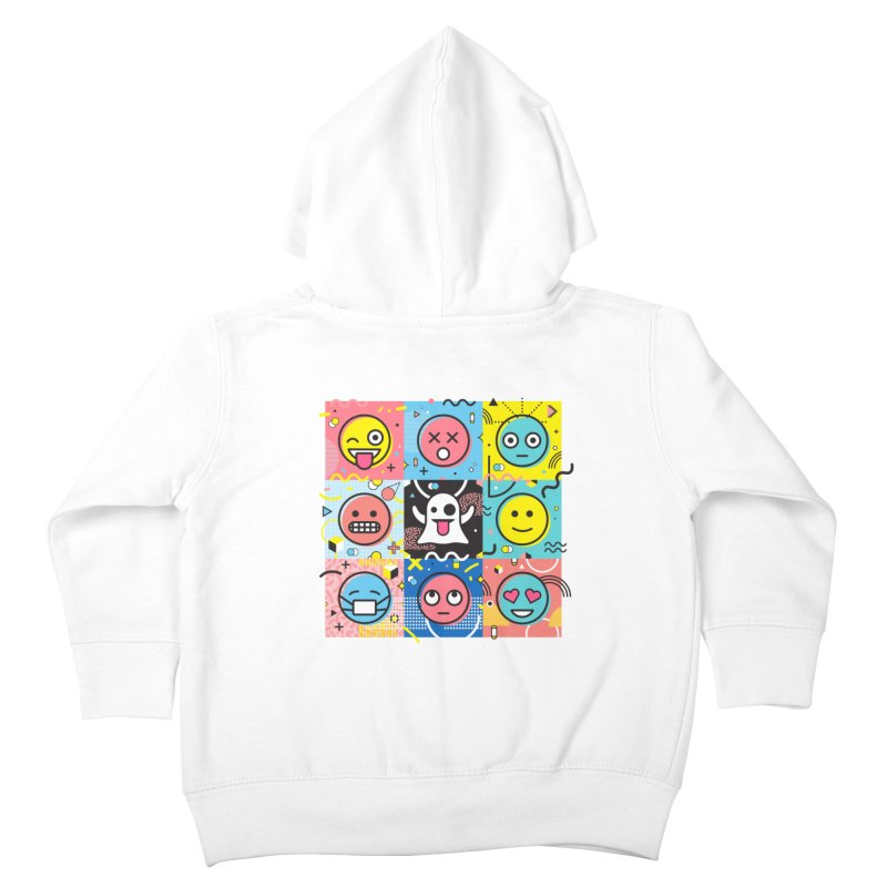 Mixed Feelings Kids Toddler Zip-Up Hoody by Jana Artist Shop