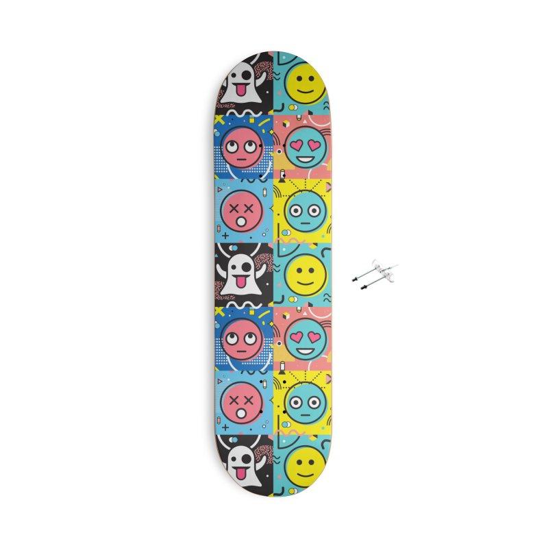 Mixed Feelings Accessories Skateboard by Jana Artist Shop