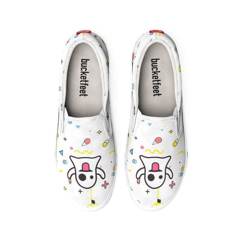 Mixed Feelings Men's Shoes by Jana Artist Shop