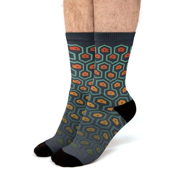 Honey I'm Home Men's Socks by Jana Artist Shop