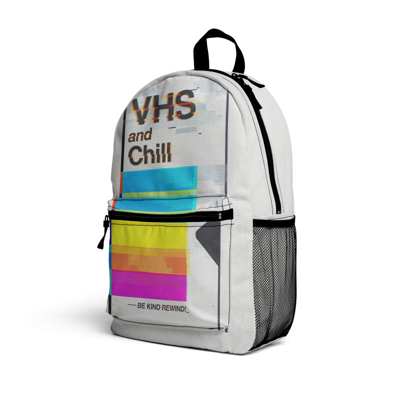VHS And Chill Accessories Bag by Jana Artist Shop