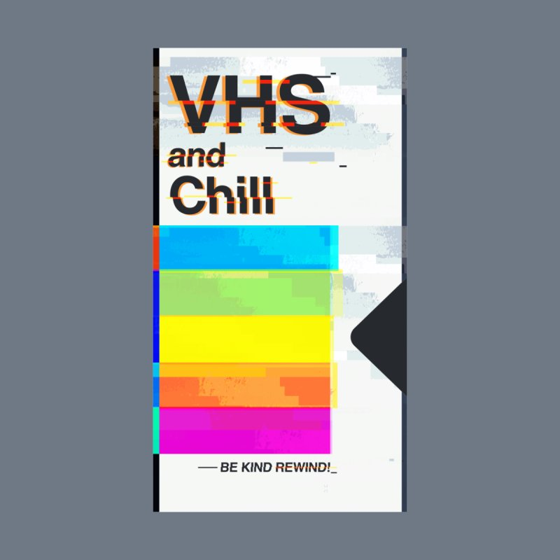 VHS And Chill Men's T-Shirt by Jana Artist Shop