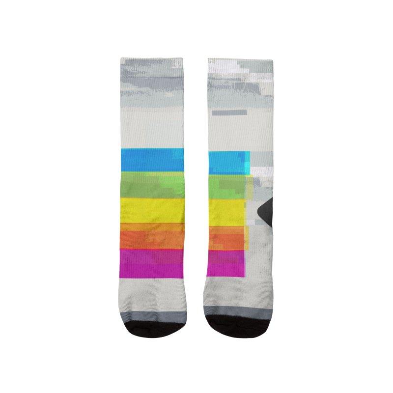 VHS And Chill Men's Socks by Jana Artist Shop