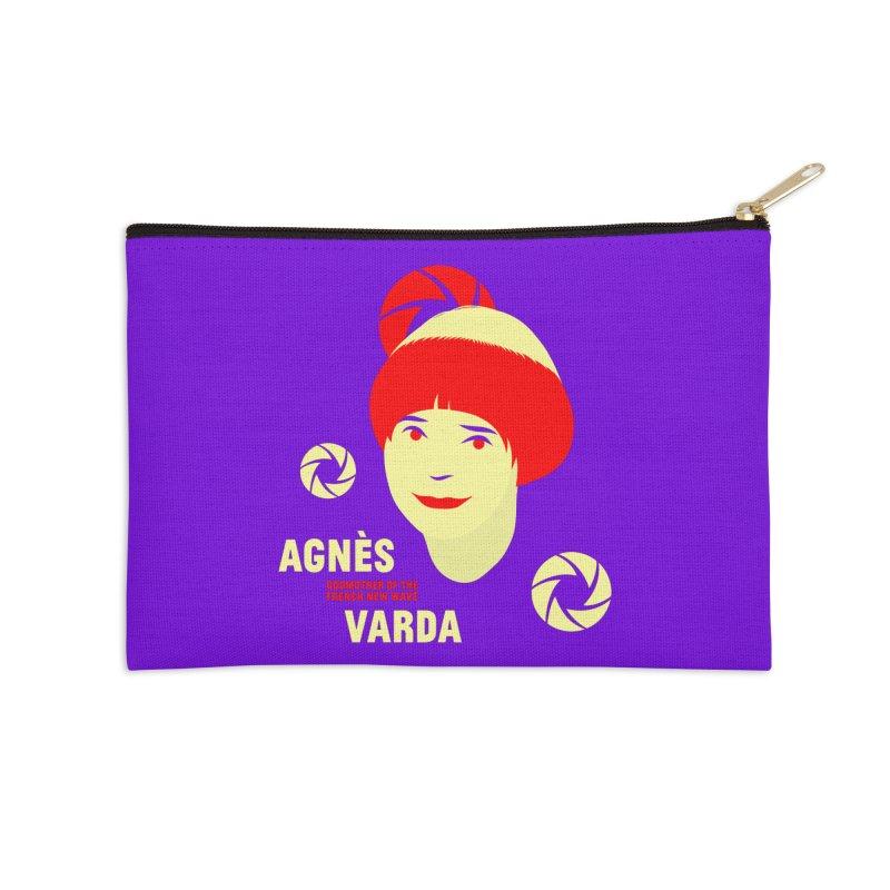 Agnes Accessories Zip Pouch by Jana Artist Shop