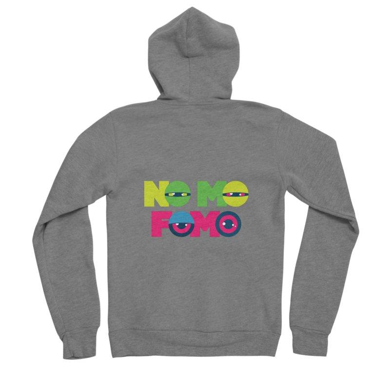 No Mo Fomo Women's Zip-Up Hoody by Jana Artist Shop