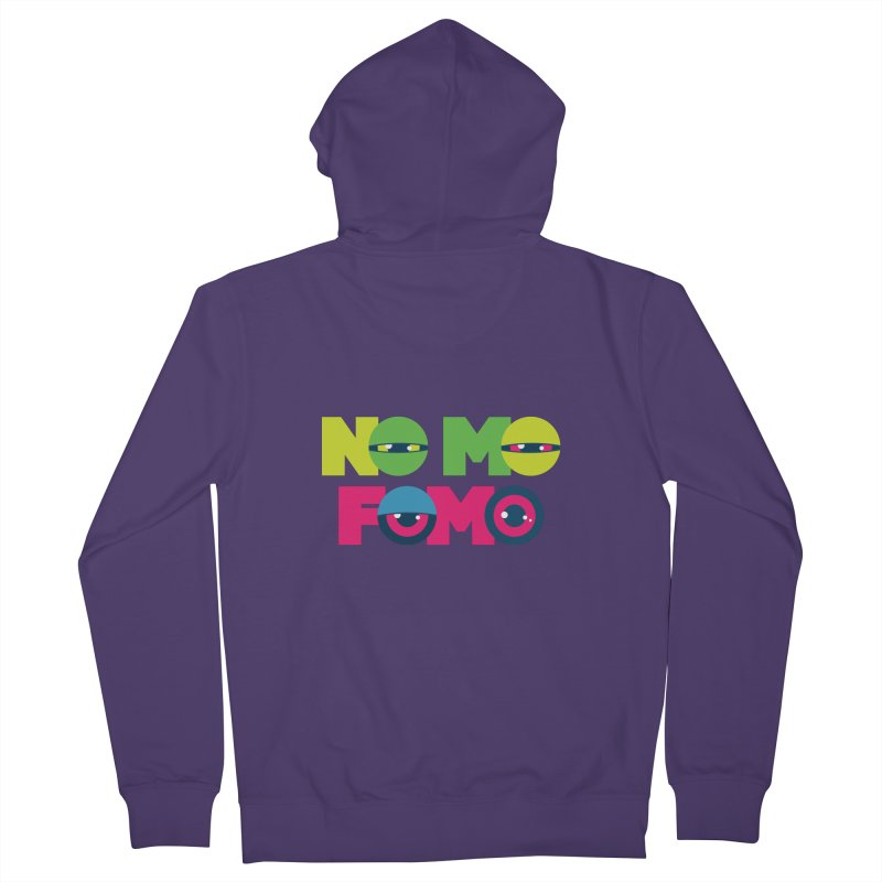 No Mo Fomo Women's Zip-Up Hoody by Jana Artist Shop