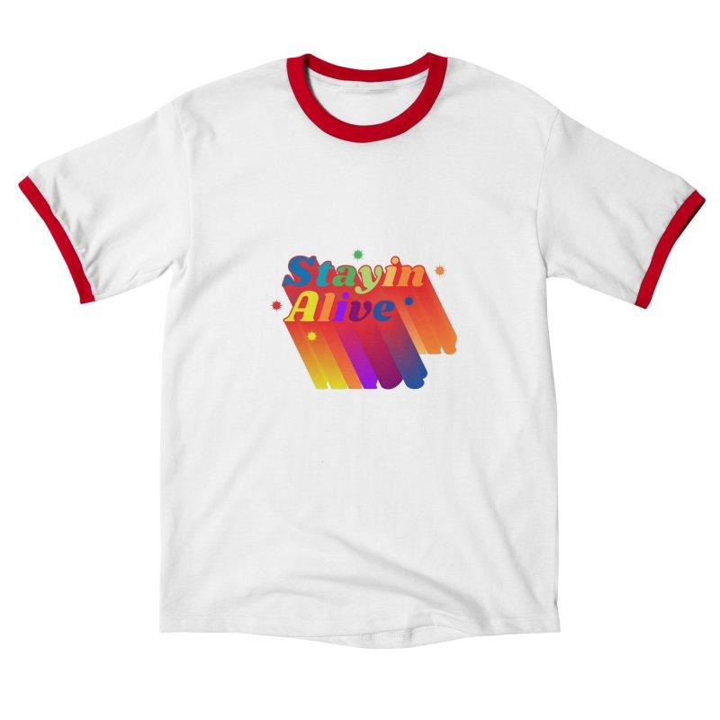 Stayin Alive Women's T-Shirt by Jana Artist Shop