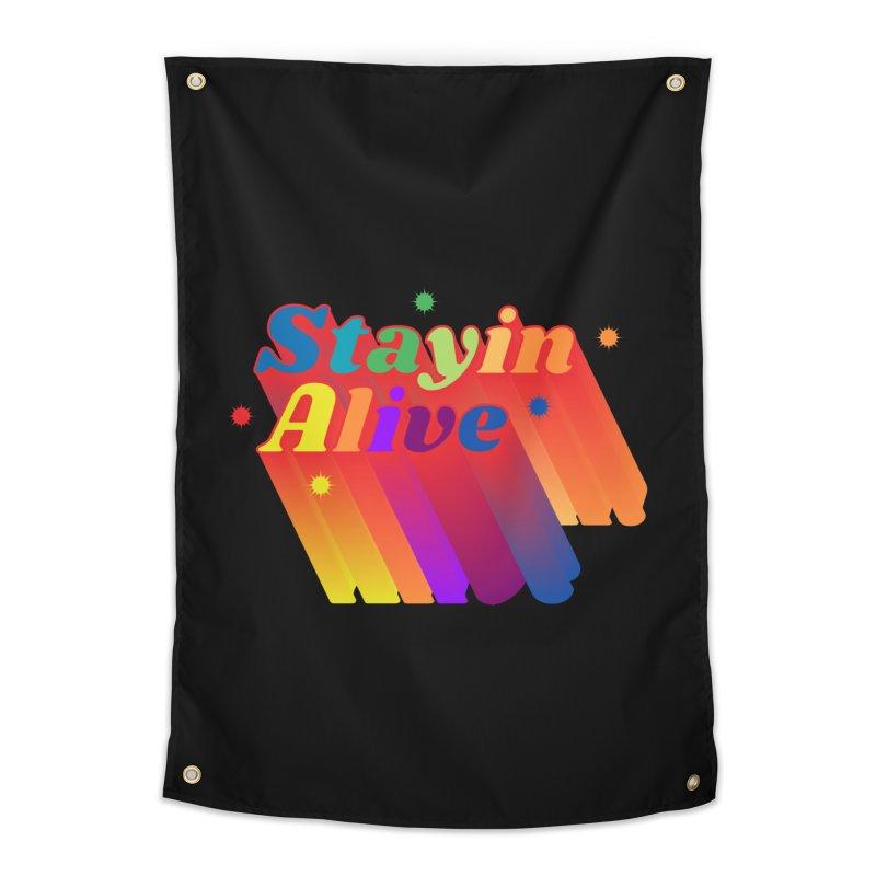 Stayin Alive Home Tapestry by Jana Artist Shop