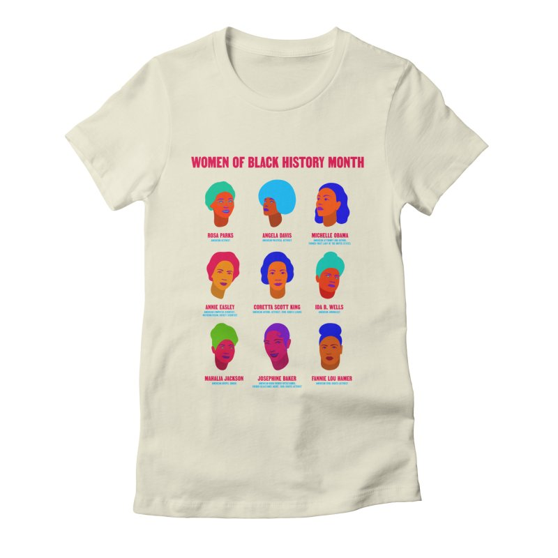 Women Of Black History Month Women's T-Shirt by Jana Artist Shop