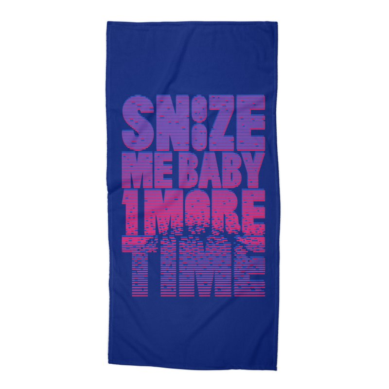 Snooze Me Baby One More Time Accessories Beach Towel by Jana Artist Shop