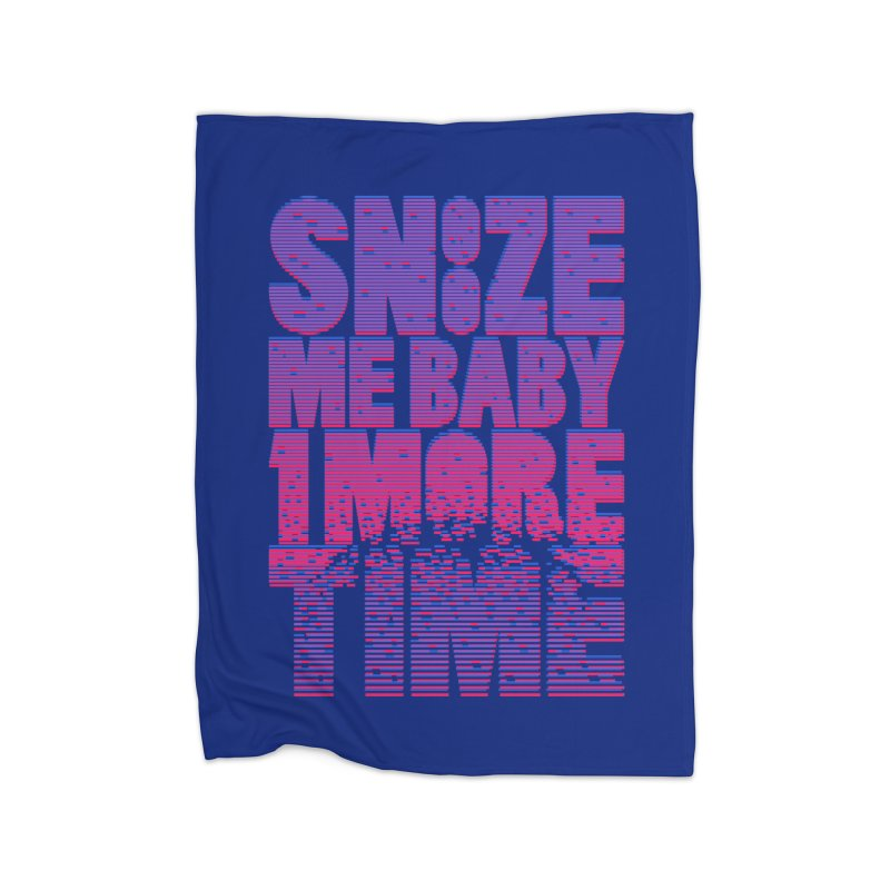 Snooze Me Baby One More Time Home Blanket by Jana Artist Shop