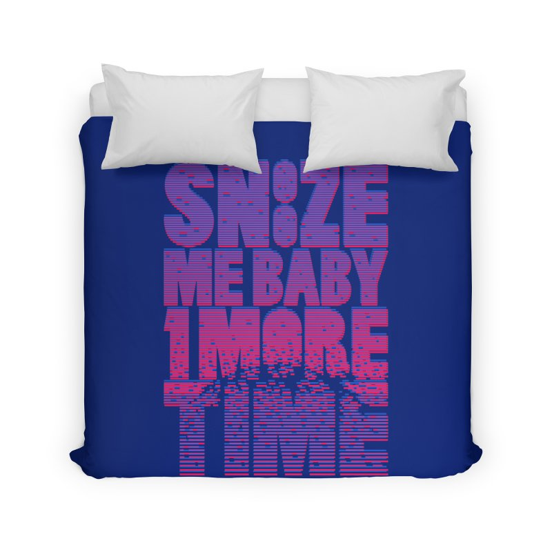 Snooze Me Baby One More Time Home Duvet by Jana Artist Shop