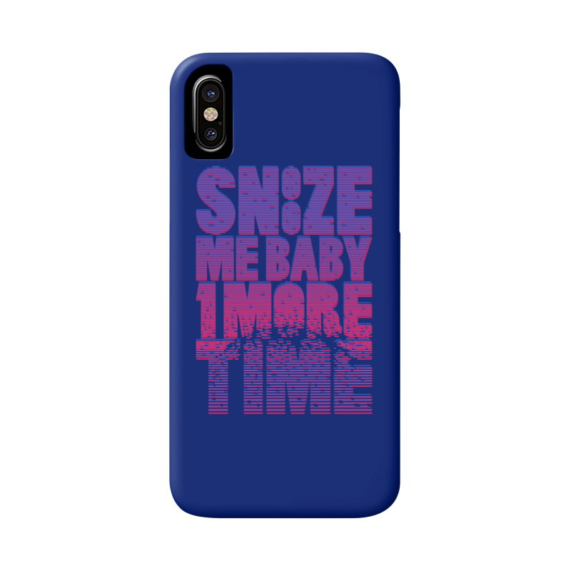 Snooze Me Baby One More Time Accessories Phone Case by Jana Artist Shop