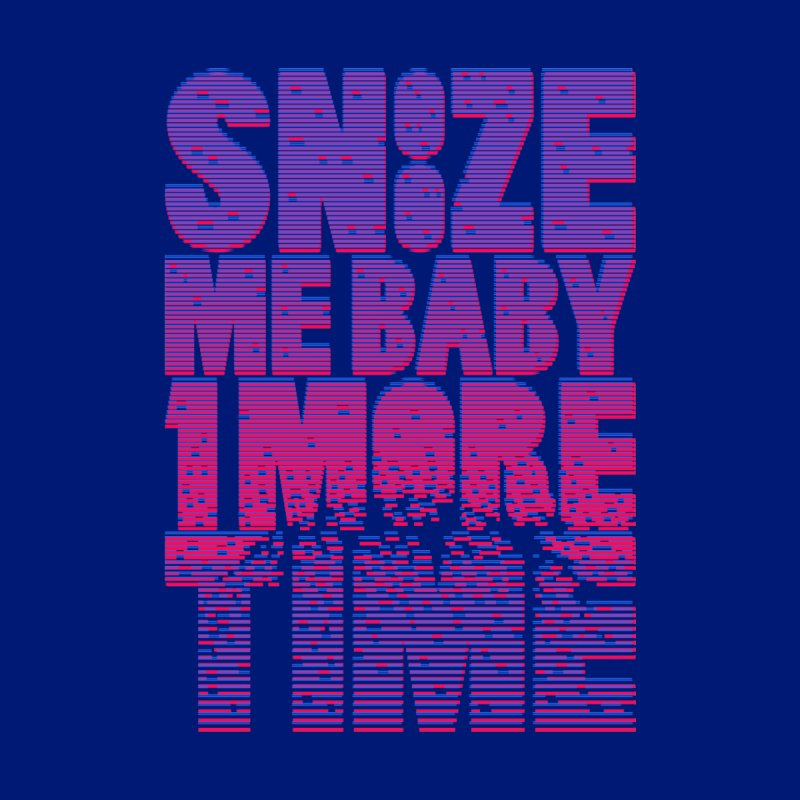 Snooze Me Baby One More Time Home Rug by Jana Artist Shop