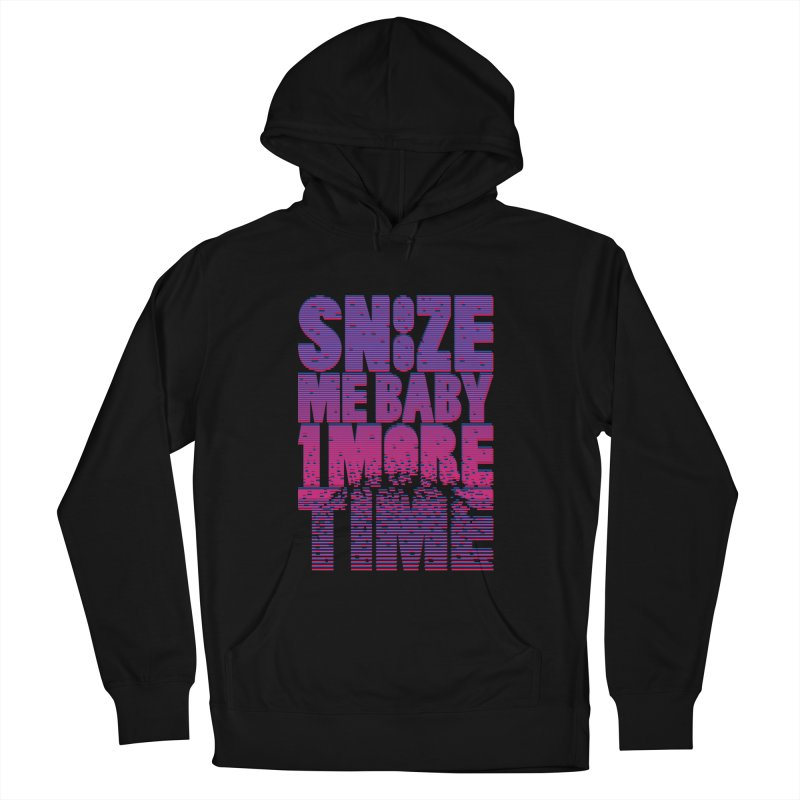Snooze Me Baby One More Time Men's Pullover Hoody by Jana Artist Shop
