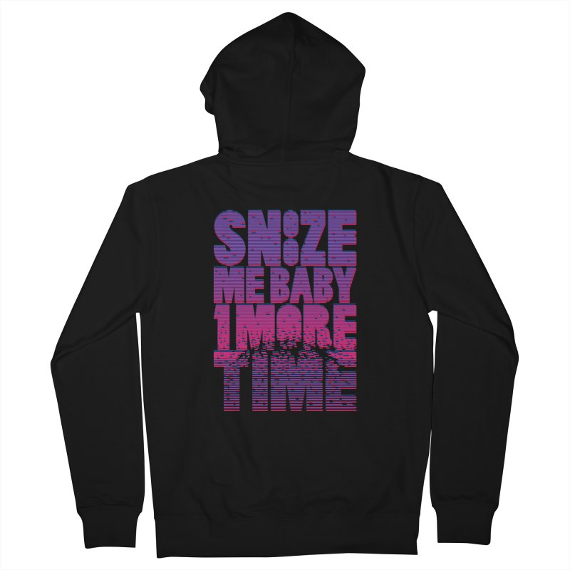 Snooze Me Baby One More Time Men's Zip-Up Hoody by Jana Artist Shop