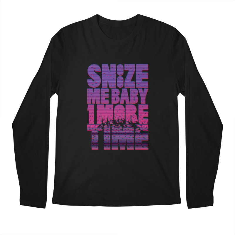 Snooze Me Baby One More Time Men's Longsleeve T-Shirt by Jana Artist Shop