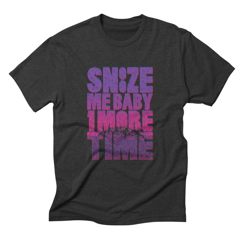 Snooze Me Baby One More Time Men's Triblend T-shirt by Jana Artist Shop