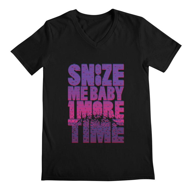 Snooze Me Baby One More Time Men's V-Neck by Jana Artist Shop