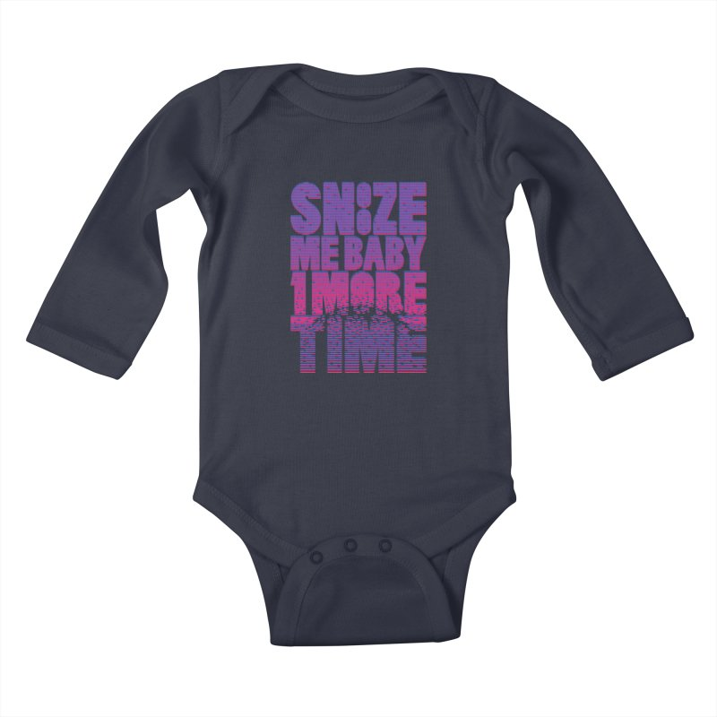 Snooze Me Baby One More Time Kids Baby Longsleeve Bodysuit by Jana Artist Shop