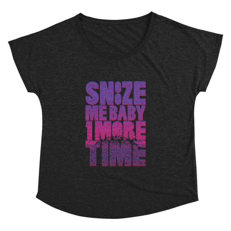 Snooze Me Baby One More Time Women's Dolman by Jana Artist Shop