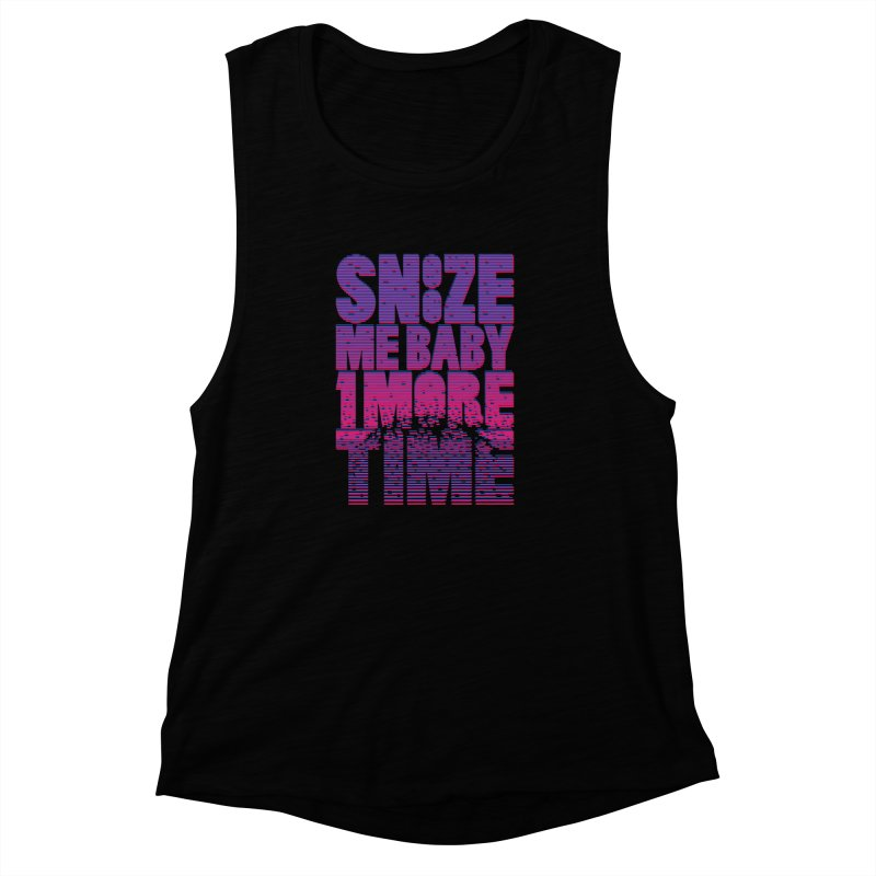 Snooze Me Baby One More Time Women's Muscle Tank by Jana Artist Shop