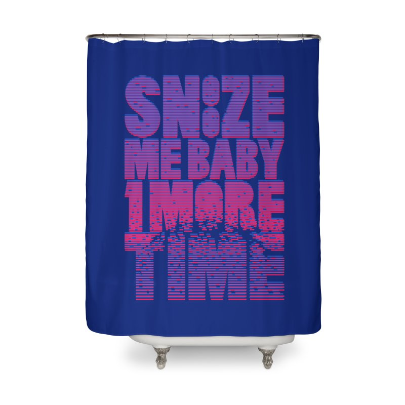 Snooze Me Baby One More Time Home Shower Curtain by Jana Artist Shop