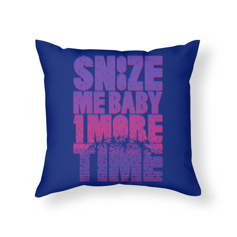 Snooze Me Baby One More Time Home Throw Pillow by Jana Artist Shop