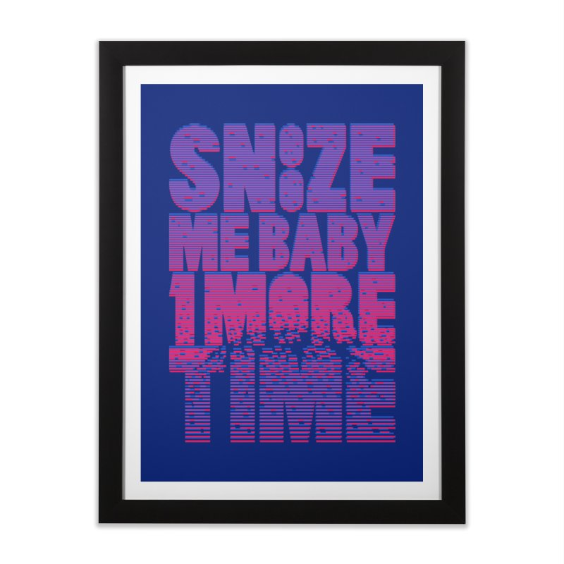 Snooze Me Baby One More Time Home Framed Fine Art Print by Jana Artist Shop