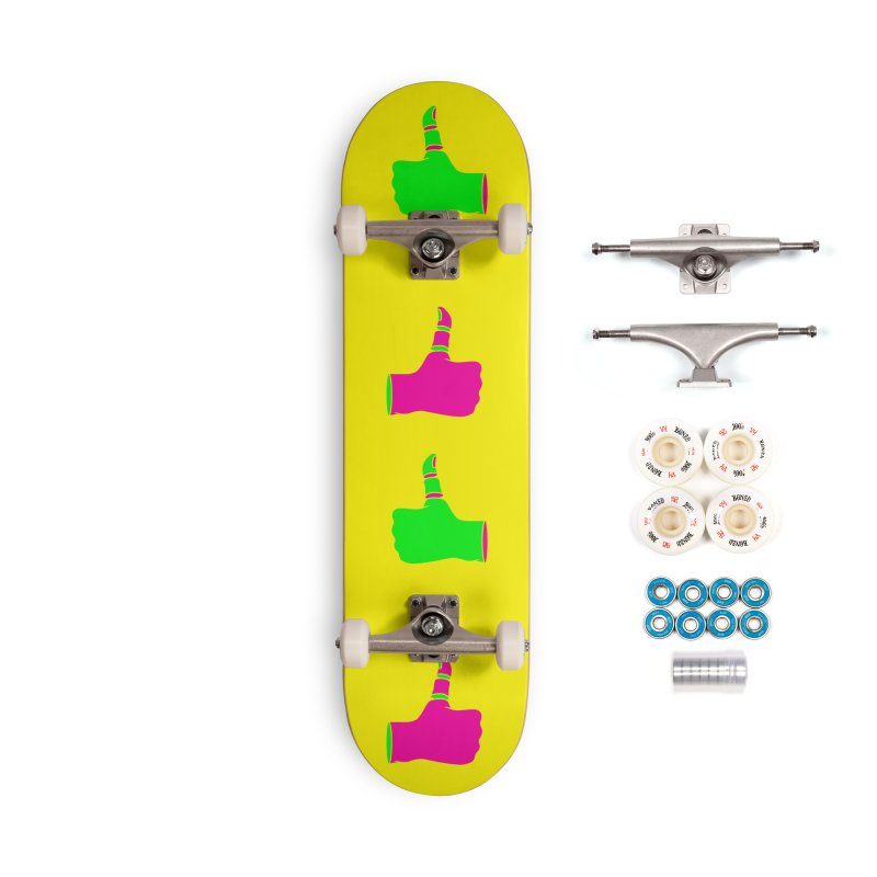 Dislike Accessories Complete - Premium Skateboard by Jana Artist Shop