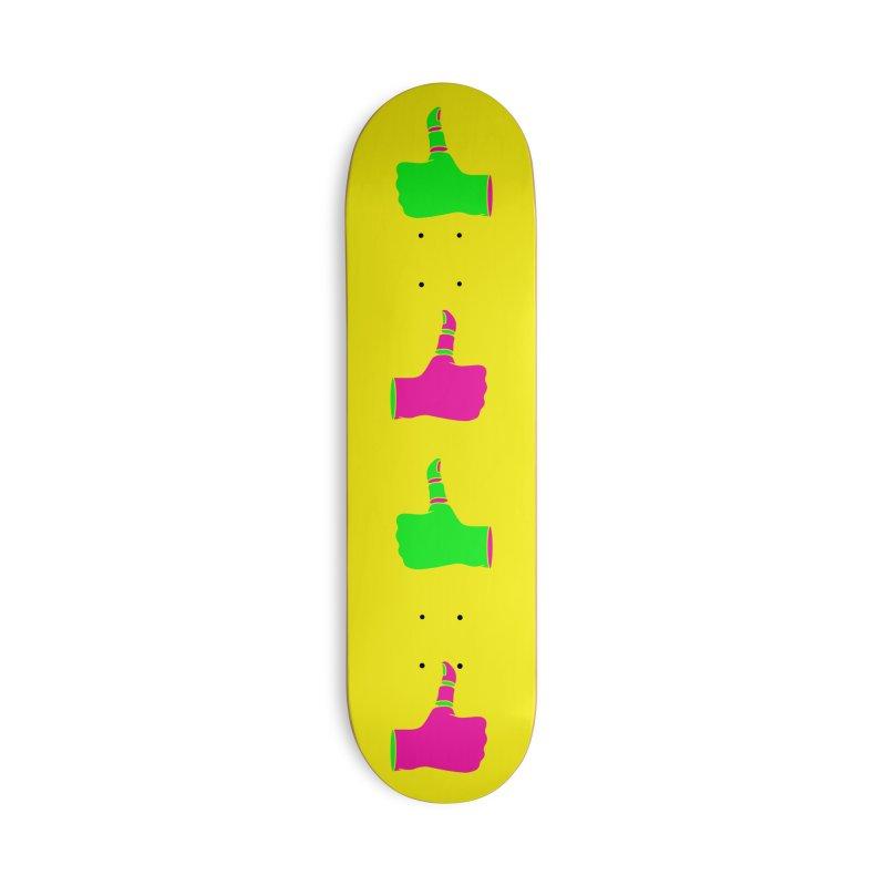 Dislike Accessories Deck Only Skateboard by Jana Artist Shop