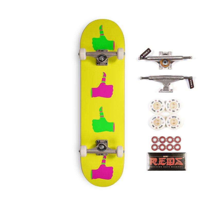 Dislike Accessories Complete - Pro Skateboard by Jana Artist Shop