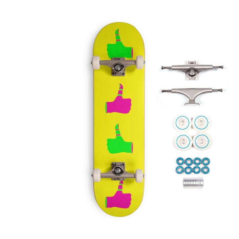 Dislike Accessories Complete - Basic Skateboard by Jana Artist Shop