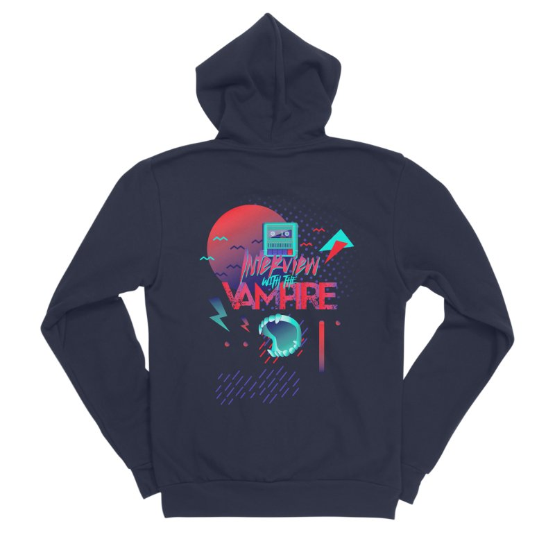Interview With The Vampire Women's Sponge Fleece Zip-Up Hoody by Jana Artist Shop