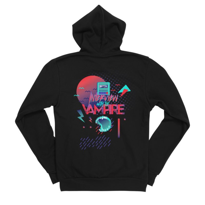 Interview With The Vampire Men's Sponge Fleece Zip-Up Hoody by Jana Artist Shop