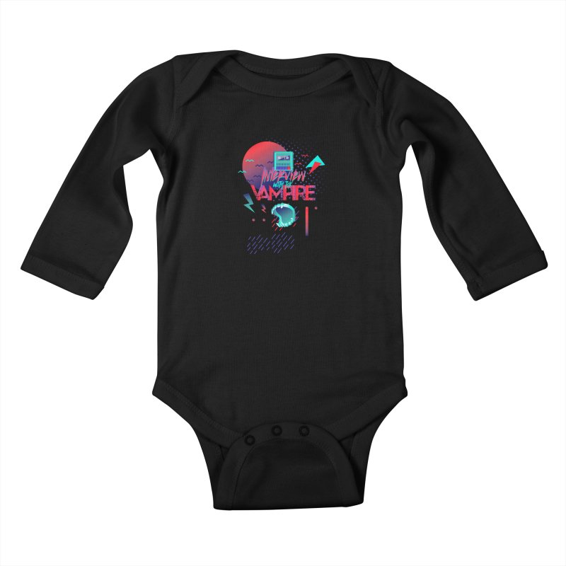 Interview With The Vampire Kids Baby Longsleeve Bodysuit by Jana Artist Shop