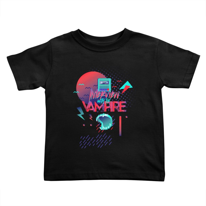 Interview With The Vampire Kids Toddler T-Shirt by Jana Artist Shop