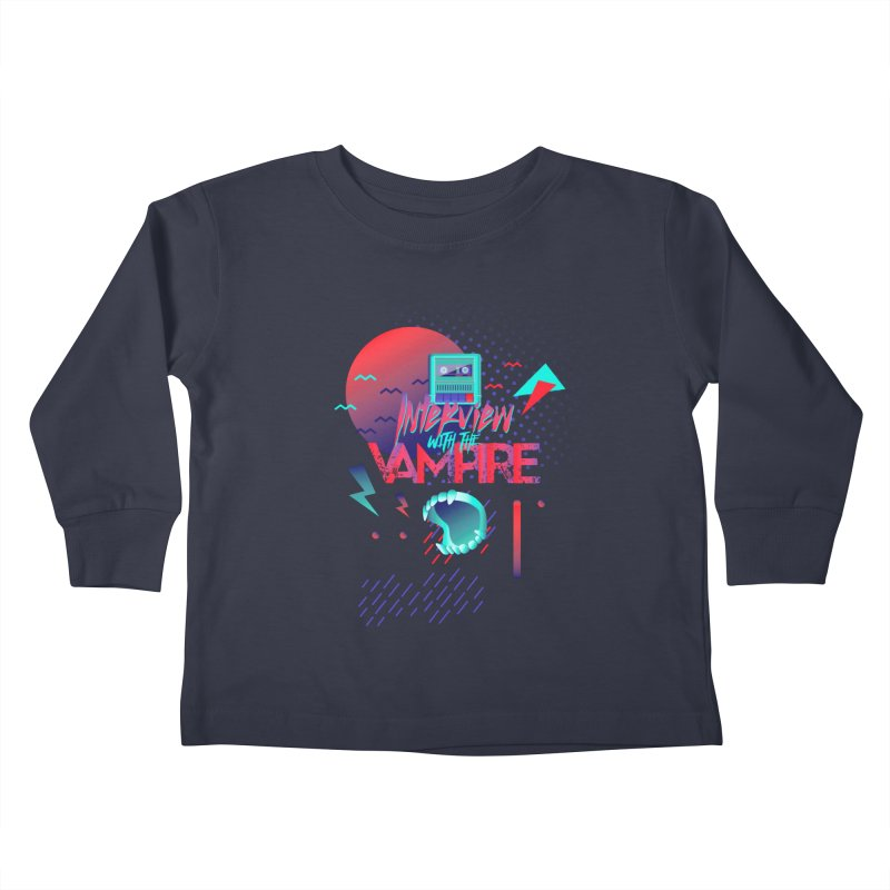 Interview With The Vampire Kids Toddler Longsleeve T-Shirt by Jana Artist Shop