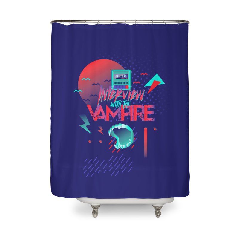 Interview With The Vampire Home Shower Curtain by Jana Artist Shop