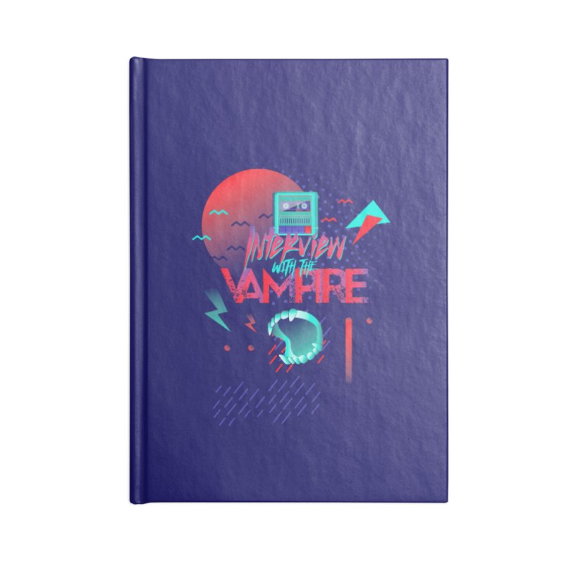 Interview With The Vampire Accessories Notebook by Jana Artist Shop